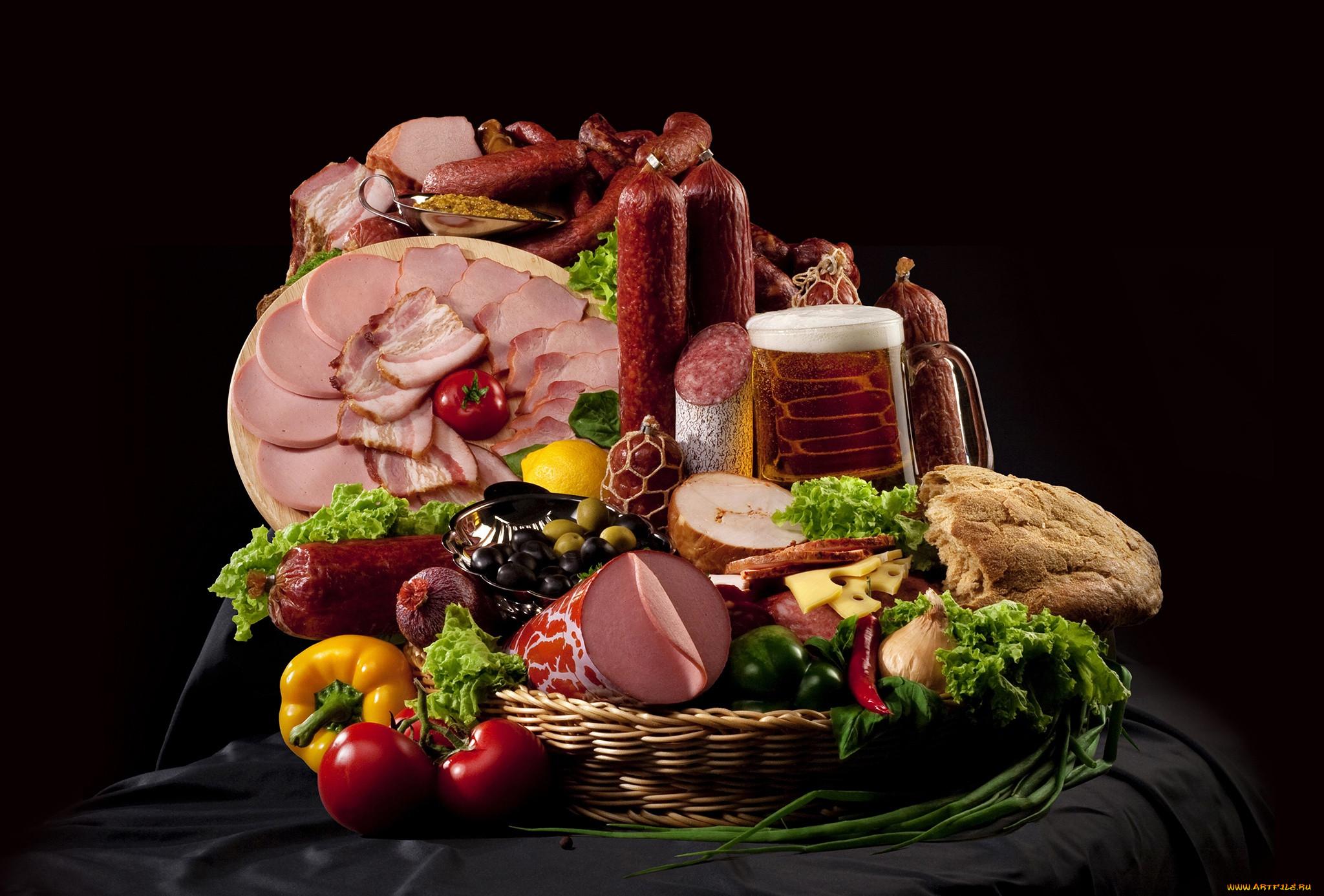 Картинка продукты на столе